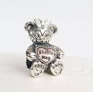 Pandora ShellieMay the Disney Bear Charm Silver